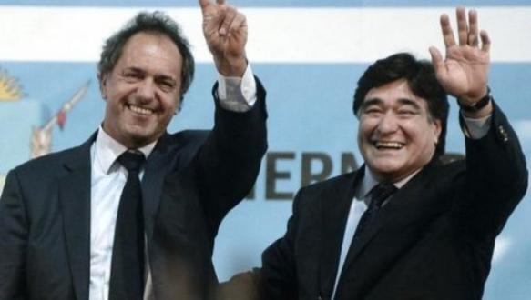 Daniel Scioli (L) and Carlos Zannini Argentina