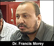 Dr. Francis Morey, Epidemiology Unit, Ministry of Health