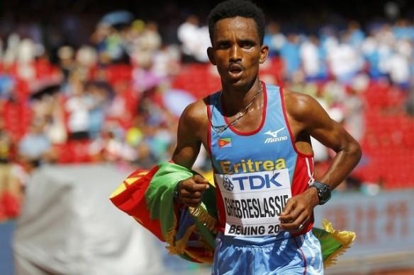 ghebreslassie wins marathon in bejing 2015 2