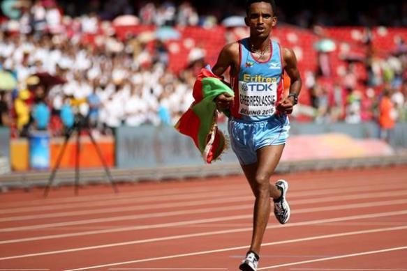 ghebreslassie wins marathon