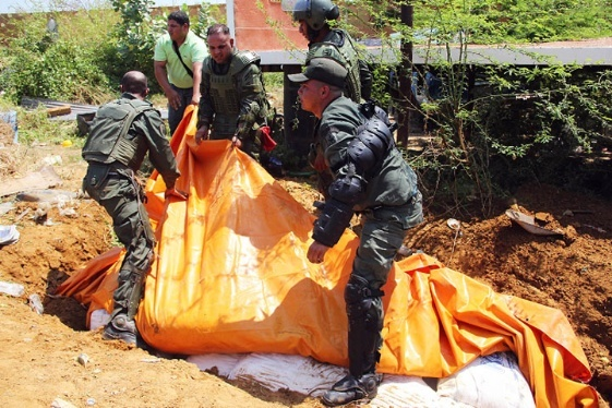 Intelligence information allowed the officials to locate the products in the courtyard of a house in an eastern suburb of Maracaibo. Photo:Alba Ciudad