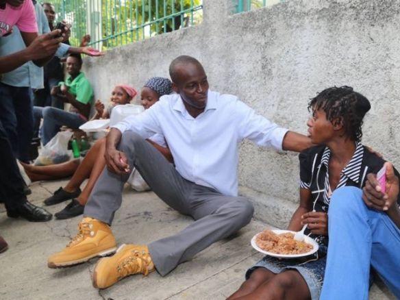 haiti's presidential candidate jovenel moise