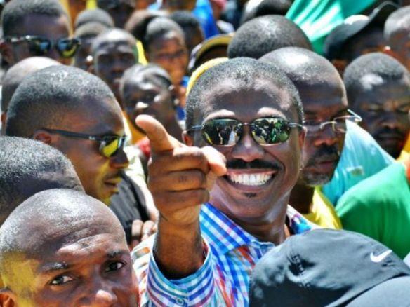 haiti's presidential candidate jude celestin