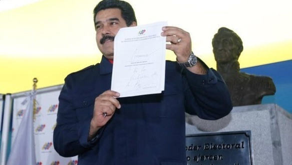 maduro for peace in elections 2015