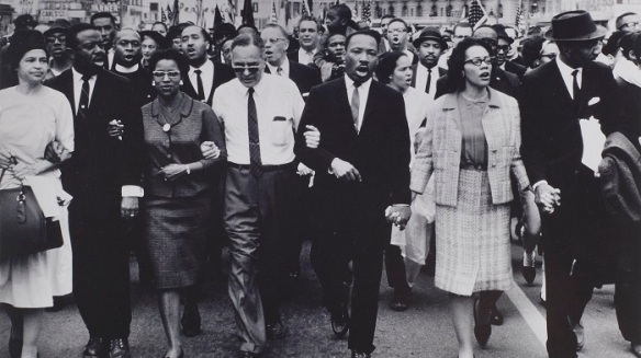 rosa parkes marches with mlk