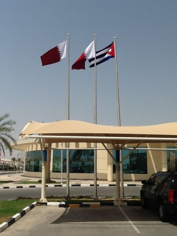 cuban hospital in qatar wins award