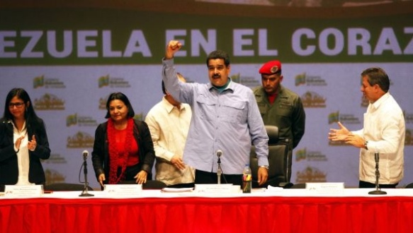 President Nicolad Maduro praised the work of Barrio Adentro, a health program launched under his predecessor, Hugo Chavez. | Photo: AVN