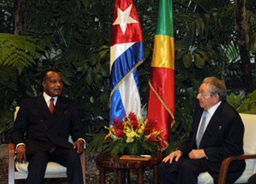 Raul y Denis Sassou Nguesso2