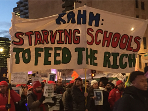 chicago teachers march 1