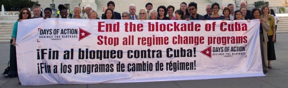end the blockade of cuba