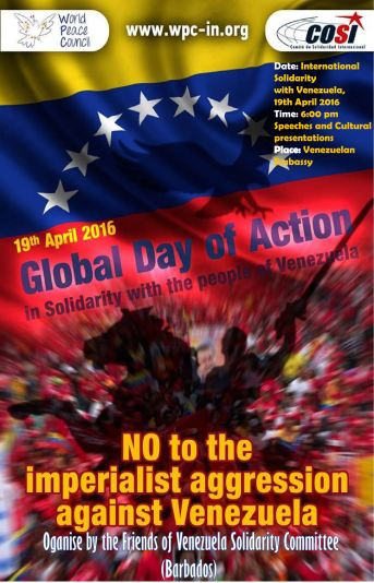 G Action Day with Venezuela 100