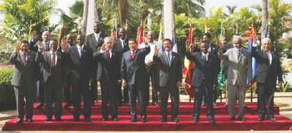 petrocaribe chavez launches petrocaribe june 2005.jpg