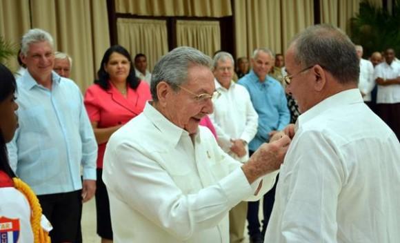 Cuba honours Fernando Lazaro Exposito Canto May Day 2016.jpg