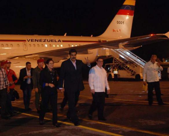 maduro arives in cuba for the signing of the colombia peace agreement.jpg