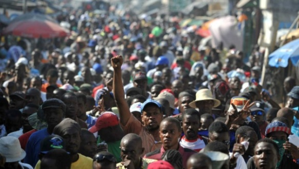 demonstrators march in haiti jan 2016.jpg
