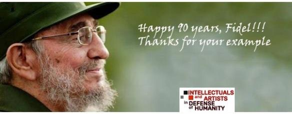 happy 90 years Fidel.JPG