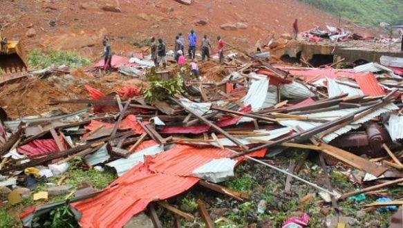 sierra leone mudslide aug 2017