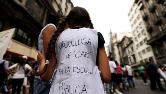 students occupy schools argentina