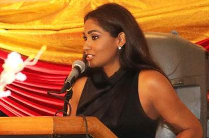 lisa hanna in st kitts
