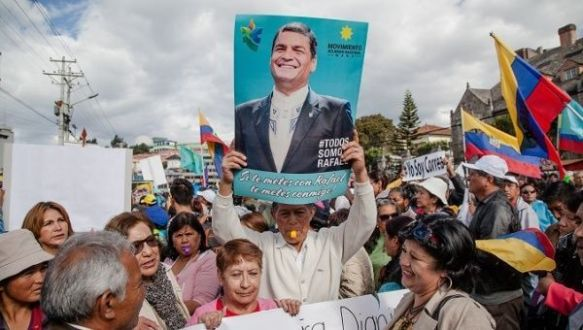 imperialist plot against Rafael Correa