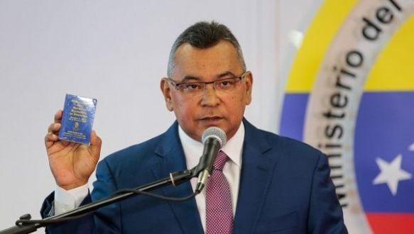 Nestor Reverol Venezuela interior minister