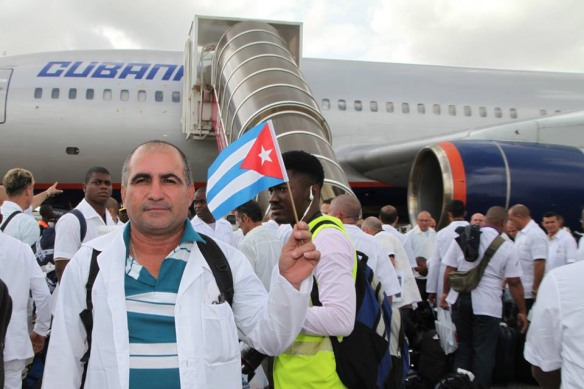 cuban doctors arrive in sierra leone.jpg